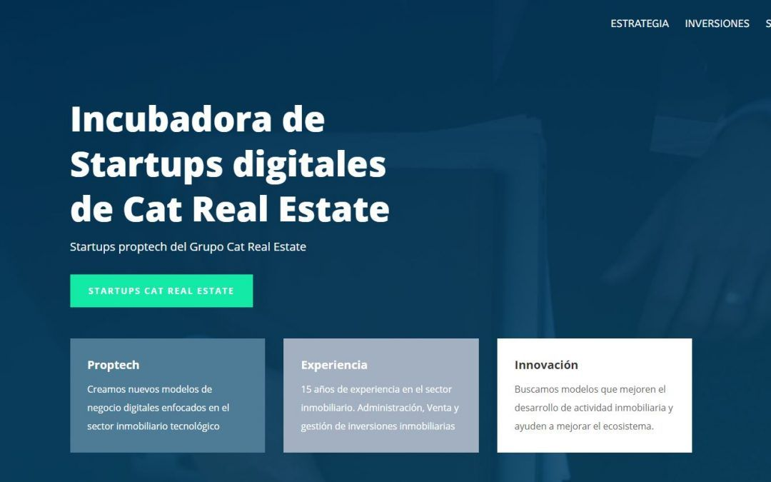 Cat Real Estate Proptech, la nova incubadora d'startups immobiliàries