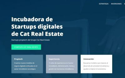 Cat Real Estate Proptech, the new Real Estate Startups incubator